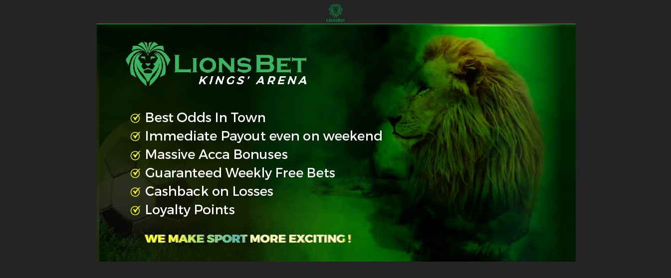 LionsBet review in Nigeria