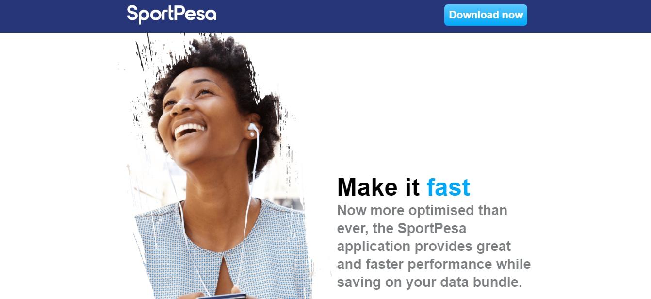 SportPesa app for iOS